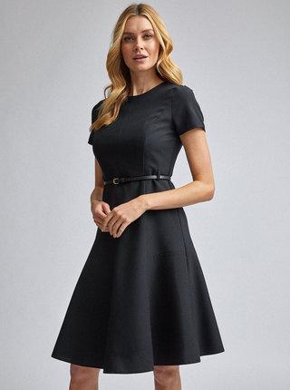 Černé šaty Dorothy Perkins Fit & Flare