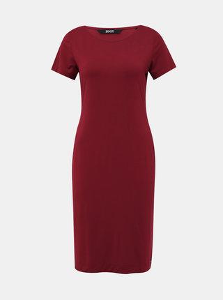 Vínové basic šaty ZOOT Bambina