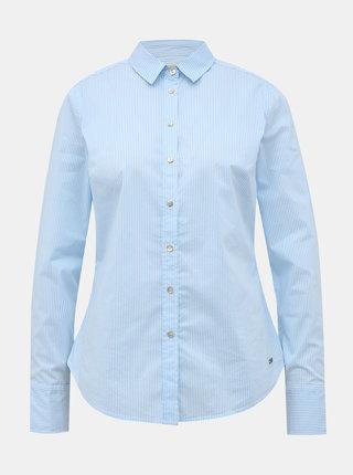 Svetlomodrá dámska pruhovaná slim fit košeľa ZOOT Baseline Chloe