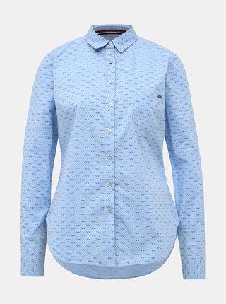 Světle modrá dámská vzorovaná regular fit košile ZOOT Baseline Kornelia