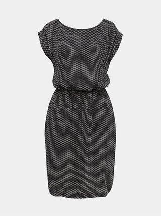 Čierne vzorované šaty ZOOT Sandra
