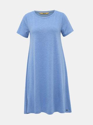 Svetlomodré basic šaty ZOOT Baseline Bela