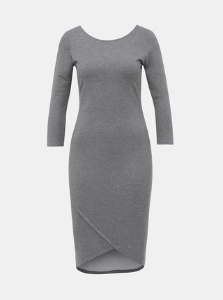 Šedé pouzdrové basic šaty ZOOT Baseline Berit