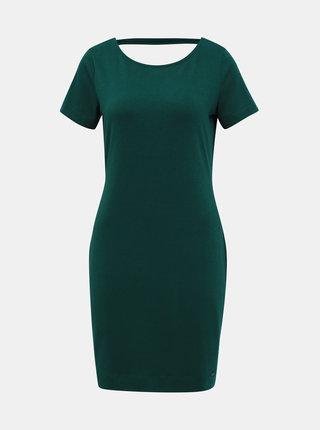 Tmavě zelené basic šaty ZOOT Brenda