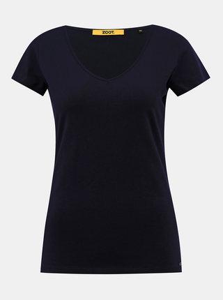 Tmavě modré dámské basic tričko ZOOT Baseline Lia