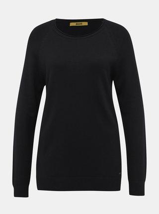 Čierny dámsky basic sveter ZOOT Baseline Ema