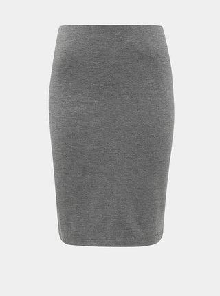 Šedá basic sukně ZOOT Baseline Pavla