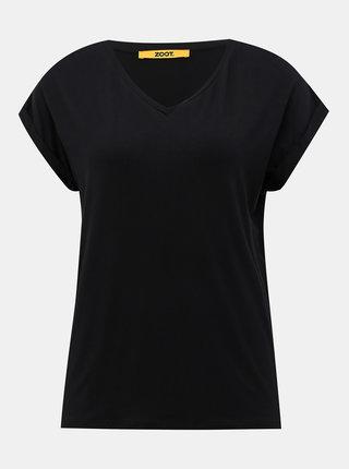 Čierne dámske basic tričko ZOOT Baseline Adriana