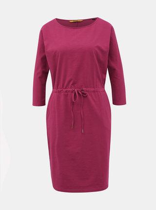 Tmavoružové basic šaty ZOOT Baseline Darina