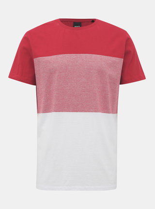 Bílo-červené pánské tričko ZOOT James