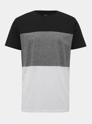 Bílo-černé pánské tričko ZOOT James