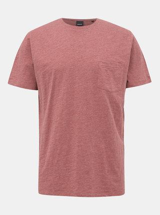 Červené pánske basic tričko ZOOT Brandon