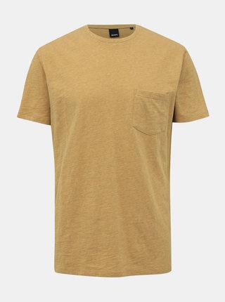 Žluté pánské basic tričko ZOOT Brandon