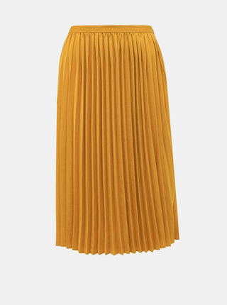 Hořčicová plisovaná sukně ZOOT Petra