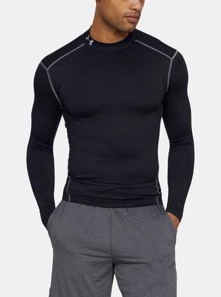 Černé pánské tričko Mock Under Armour