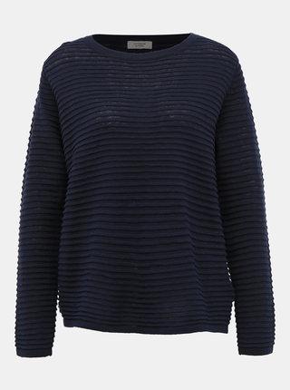 Tmavě modrý svetr Jacqueline de Yong Siu