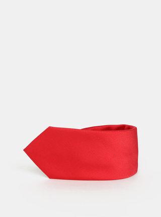 Červená kravata Burton Menswear London