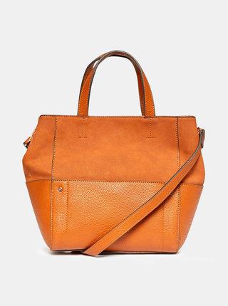 Hnedá kabelka s detailmi v semišovej úprave Dorothy Perkins