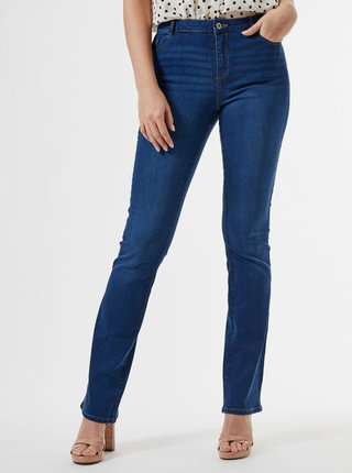 Modré bootcut rifle Dorothy Perkins Tall Ellis