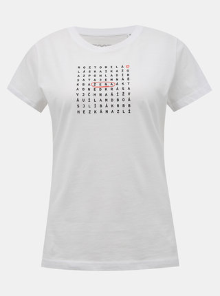Bílé tričko ZOOT Original Osmisměrka