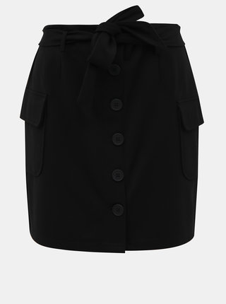 Černá sukně Noisy May Hipe