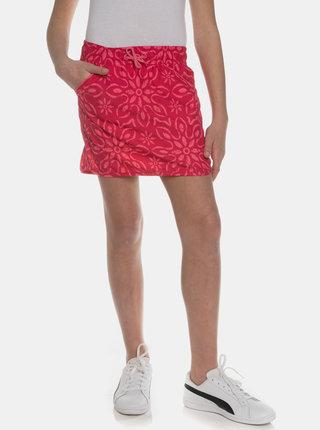 Tmavě růžová holčičí vzorovaná sukně SAM 73