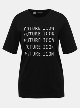 Černé tričko Noisy May Future