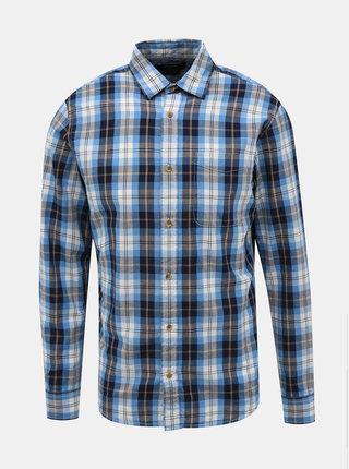 Modrá kostkovaná slim fit košile Jack & Jones Dylan
