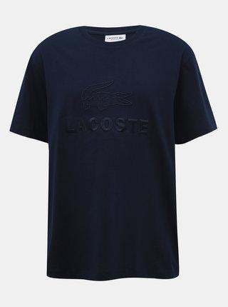 Tmavomodré pánske tričko Lacoste