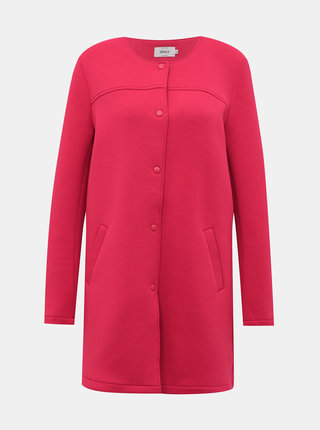 Ružový ľahký kabát ONLY Donna