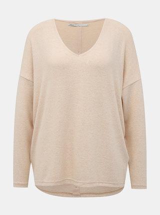 Svetloružový sveter ONLY Maye