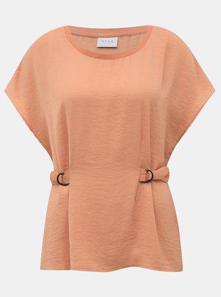 Růžové tričko VILA