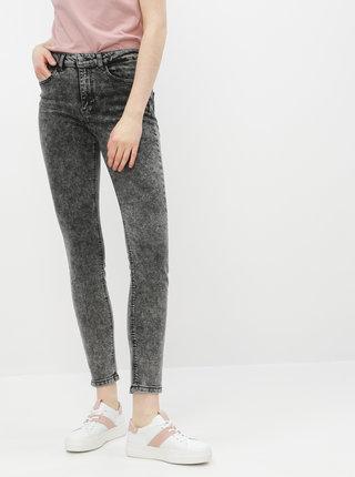 Tmavě šedé skinny fit džíny Jacqueline de Yong Tyga