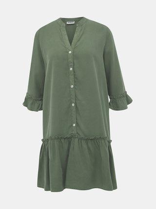 Zelené šaty Noisy May Sophie