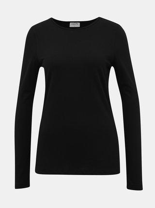 Černé basic tričko AWARE by VERO MODA Klive