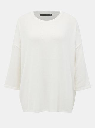 Biely oversize sveter Vero Moda Brianna