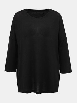 Čierny oversize sveter Vero Moda Brianna