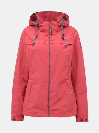 Růžová dámská voděodolná bunda killtec Catalea