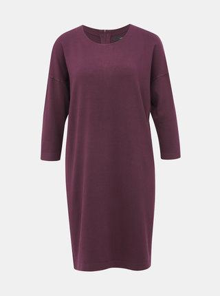 Vínové svetrové šaty VERO MODA