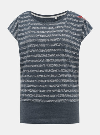 Šedé dámské květované tričko killtec Vaiva