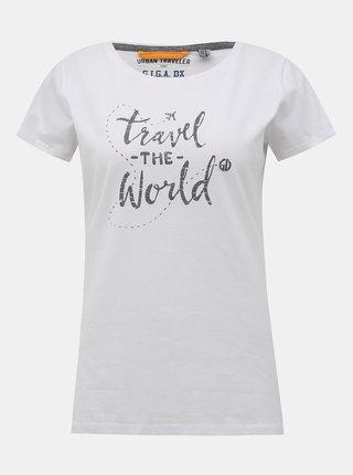 Biele dámske tričko killtec Japara