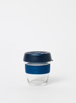 Tmavě modrý skleněný cestovní hrnek KeepCup Brew small 177 ml