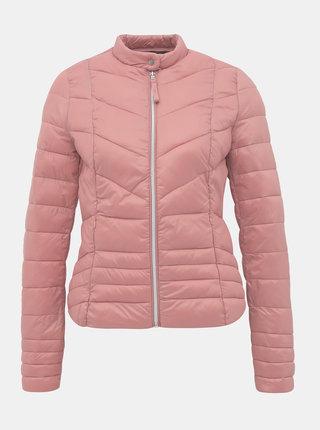 Ružová prešívaná bunda VERO MODA