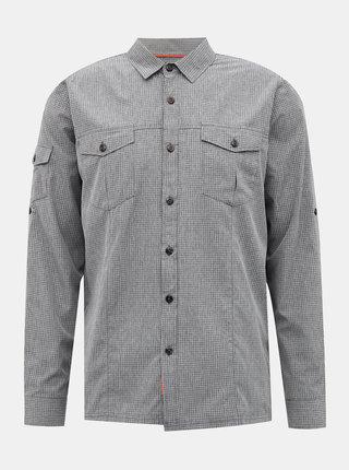 Šedá pánská kostkovaná košile killtec Skaron