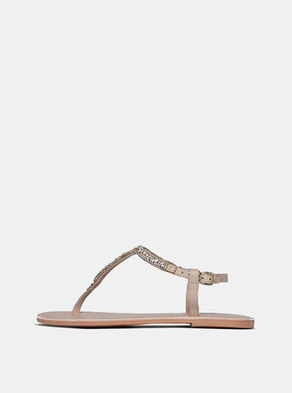 Staroružové kožené sandále Dorothy Perkins
