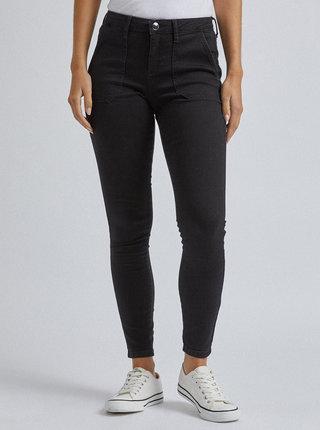 Černé skinny fit džíny Dorothy Perkins Darcy