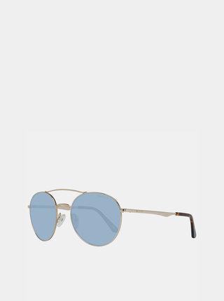 Slnečné okuliare v zlatej farbe GANT