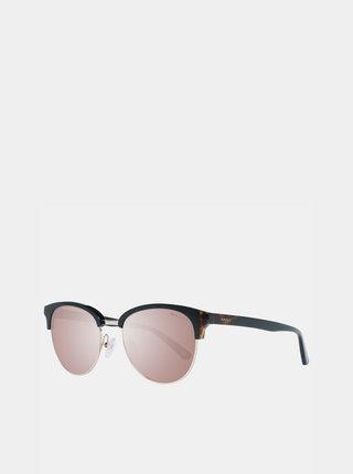 Čierne dámske slnečné okuliare GANT