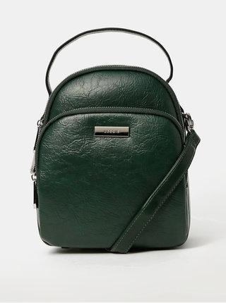Tmavě zelený batoh/kabelka Bessie London