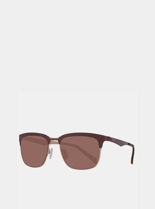 Hnedé slnečné okuliare Guess